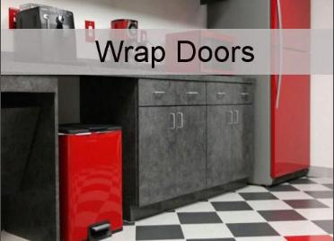Wrap doors